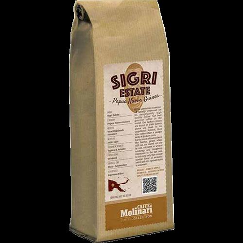 Molinari Sigri Estate Papua New Guinea kaffebönor 250g
