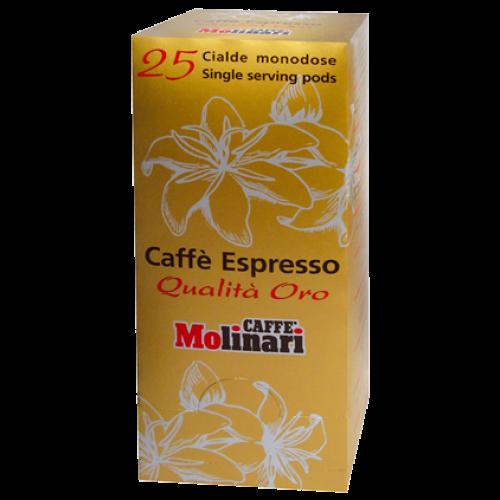 Molinari Oro kaffepods 25st
