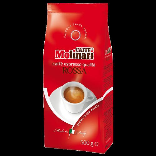Molinari Rossa kaffebönor 500g