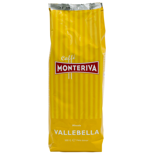 Monteriva Vallebella kaffebönor 500g