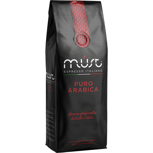 Must Puro Arabica kaffebönor 1000g