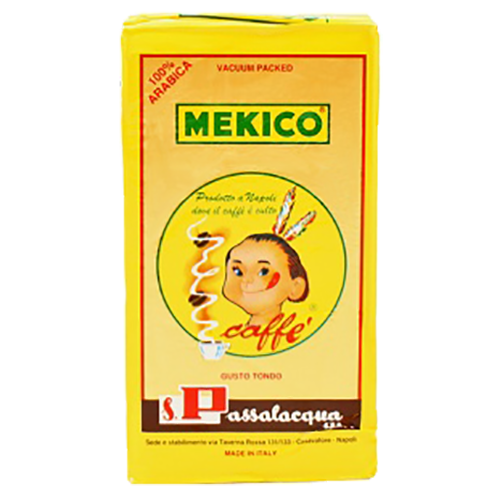 Passalacqua Mekico 100% Arabica malet kaffe 250g