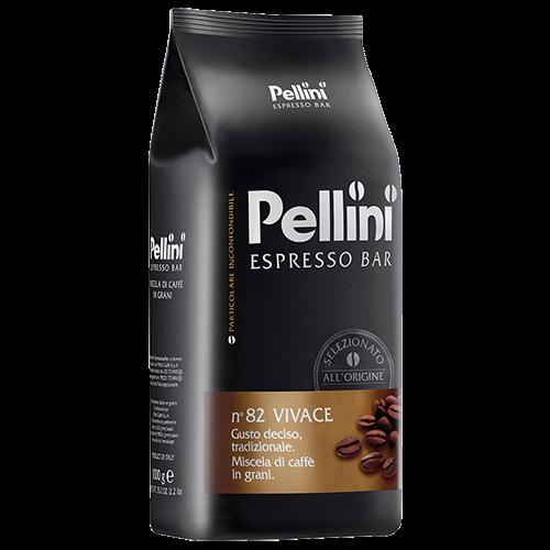 Pellini No82 Vivace kaffebönor 1000g