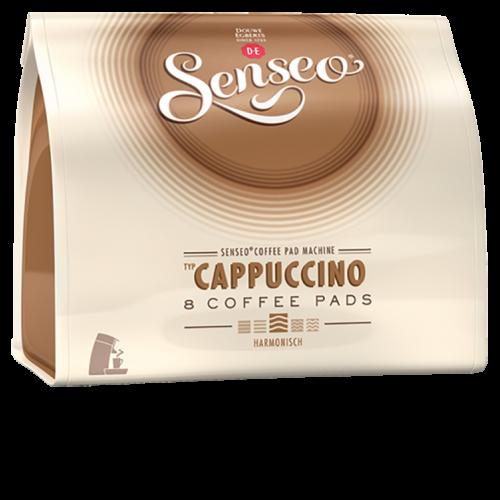 Senseo Cappuccino kaffepads 8st x10