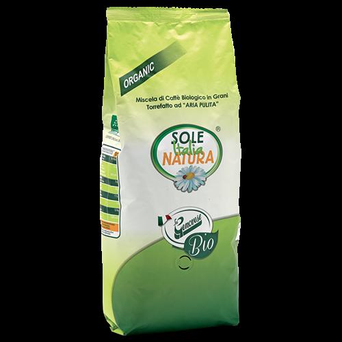 Sole Italia Natura ekologiska kaffebönor 1000g