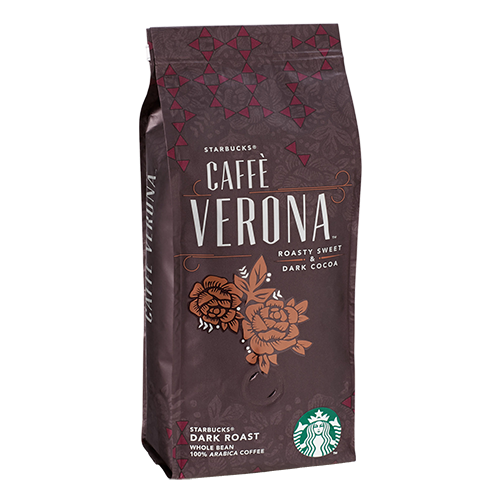 Starbucks Coffee Caffè Verona kaffebönor 250g