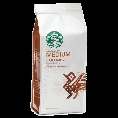 Starbucks Coffee Colombia kaffebönor 250g