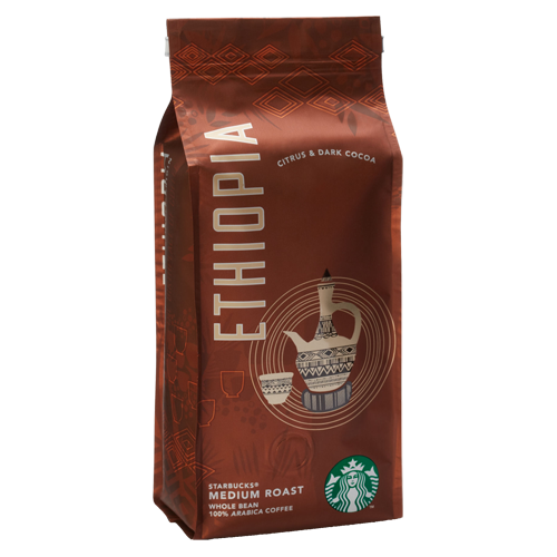Starbucks Coffee Ethiopia kaffebönor 250g