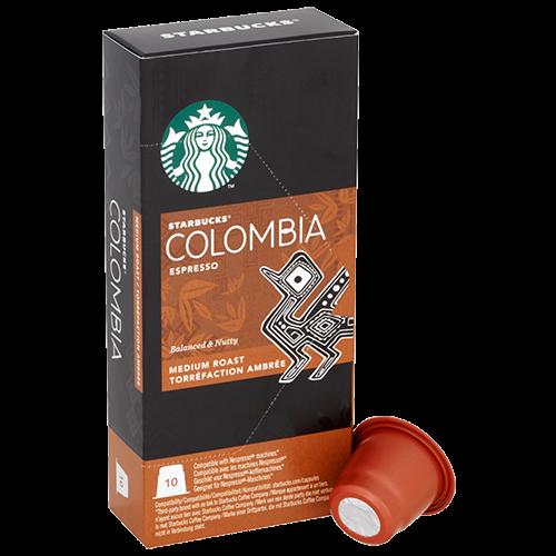 Starbucks Colombia Espresso kaffekapslar till Nespresso 10st