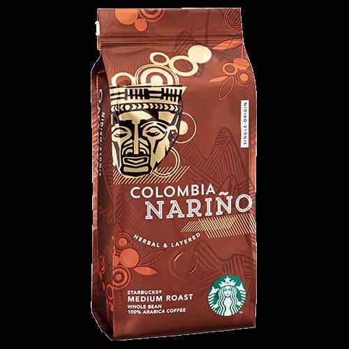 Starbucks Coffee Colombia Nariño kaffebönor 250g utgånget datum