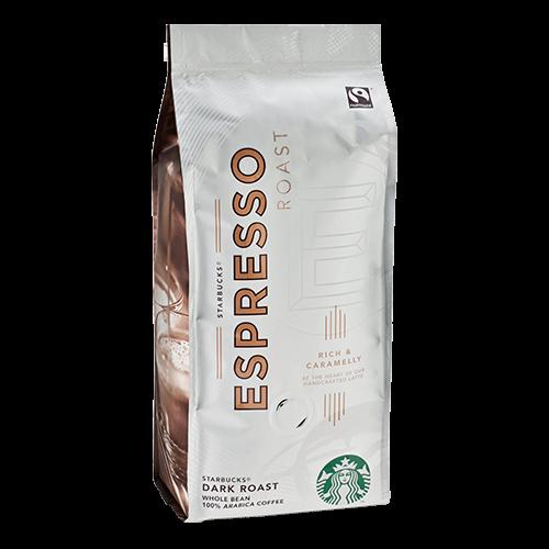 Starbucks Coffee Espresso Roast kaffebönor 250g utgånget datum