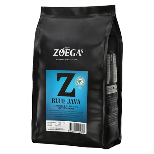 Zoégas Blue Java kaffebönor 450g