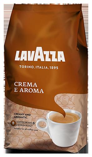 Lavazza Crema e Aroma kaffebönor 1000g