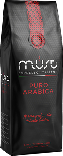 Must Puro Arabica kaffebönor 1000g