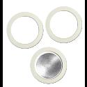 Bialetti filter och packningar för 3 och 4 koppars bryggare i aluminium