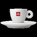 illy espressokopp (med fat) 6cl 1st