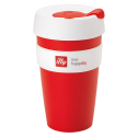 illy live happilly KeepCup kaffekopp röd 454ml