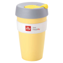 illy live happilly KeepCup kaffekopp gul 454ml