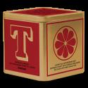 Johan & Nyström T-Te Saffran & Apelsin Ekologiskt svart te i lösvikt 125g