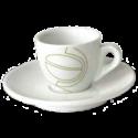 johan & nyström espressokoppar (med fat) 6st