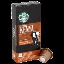 Starbucks Kenya Espresso kaffekapslar till Nespresso 10st
