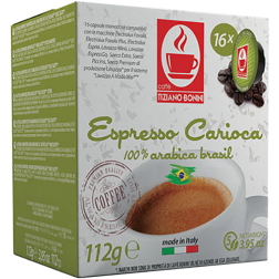 Caffè Bonini Carioca A Modo Mio kaffekapslar 16st