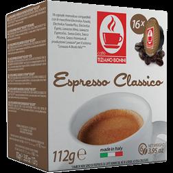 Caffè Bonini Classico A Modo Mio kaffekapslar 16st