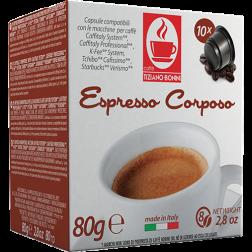 Caffè Bonini Corposo Caffitaly kaffekapslar 10st