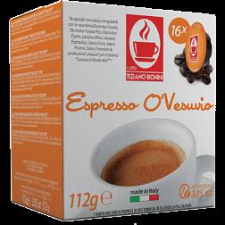 Caffè Bonini O'Vesuvio A Modo Mio kaffekapslar 16st
