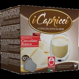 Caffè Bonini Vit Choklad kapslar till Nespresso 10st