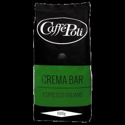 Caffè Poli CremaBar kaffebönor 1000g