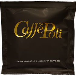 Caffè Poli SuperBar svarta kaffepods 18st