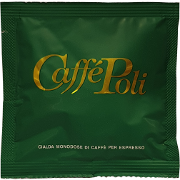 Caffè Poli Bar gröna kaffepods 150st