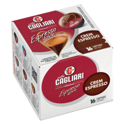 Cagliari Crem Espresso A Modo Mio kaffekapslar 16st