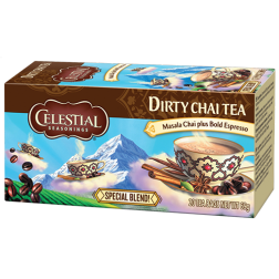 Celestial tea Dirty Chai tepåsar 20st