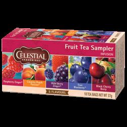 Celestial tea Fruit tea Sampler tepåsar 18st utgånget datum