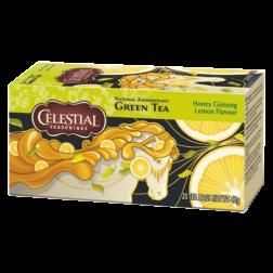 Celestial tea Honey Ginseng Lemon tepåsar 20st utgånget datum
