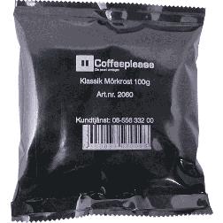 Coffeeplease mörkrostat bryggkaffe 100g