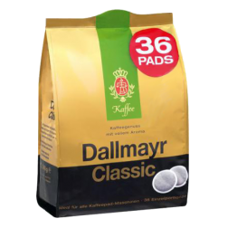 Dallmayr Classic kaffepads 36st