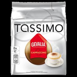 Gevalia Cappuccino Tassimo kaffekapslar 8st