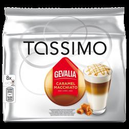 Gevalia Caramel Macchiato Tassimo kaffekapslar 8st