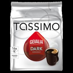 Gevalia Mörkrost Tassimo kaffekapslar 16st x5