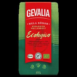 Gevalia Ekologiskt Mellanrost kaffebönor 500g