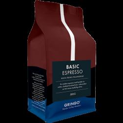 Gringo Basic Espresso kaffebönor 500g