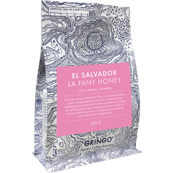 Gringo El Salvador la Fany Honey kaffebönor 250g