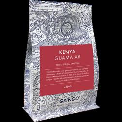 Gringo Kenya Guama AB kaffebönor 250g