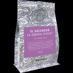 Gringo El Salvador La Siberia Honey kaffebönor 250g