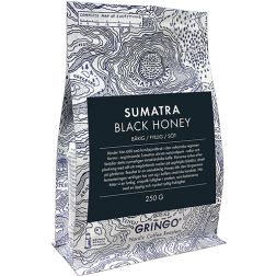 Gringo Sumatra Black Honey kaffebönor 250g