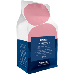 Gringo Prime Espresso kaffebönor 500g