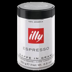illy Espresso mörkrost plåtburk kaffebönor 250g